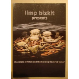 Postcard Limp Bizkit - Chocolate starfish