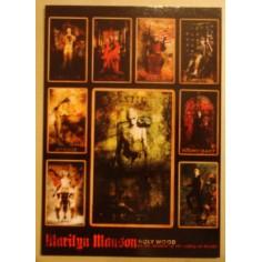 Postcard Marilyn Manson - Holywood