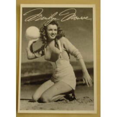 Postcard Marilyn Monroe