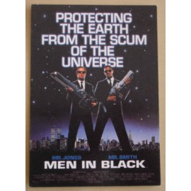 Postcard Men in Black