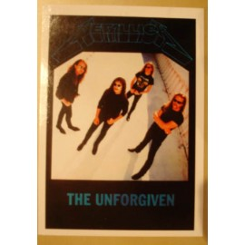 Postcard Metallica - The unforgiven