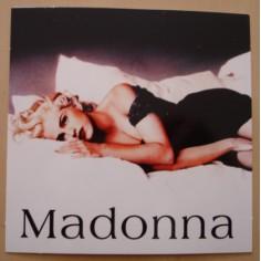 Autocollant Madonna