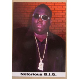 Postcard Notorious B.I.G