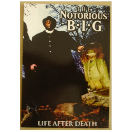 Postcard Notorious B.I.G - Life after death