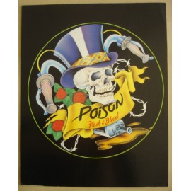 Carte postale Poison (grand format)