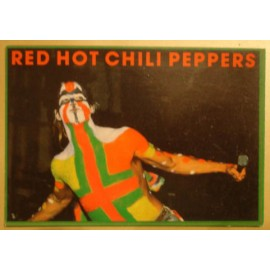 Postcard Red Hot Chili Peppers