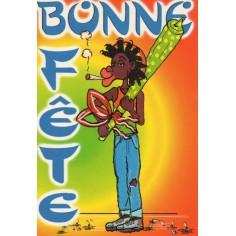 Postcard Reggae - Jimmy bonne fàte