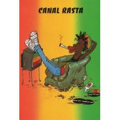 Postcard Reggae - Jimmy canal rasta
