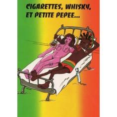 Postcard Reggae - Jimmy cigarettes, whisky