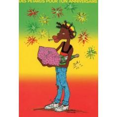 Postcard Reggae - Jimmy des pétards pour ton anniv