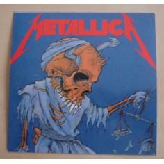 Autocollant Metallica - Damaged justice