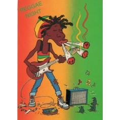 Postcard Reggae - Jimmy reggae night