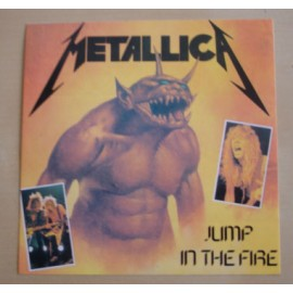 Sticker Metallica - Jump in the fire