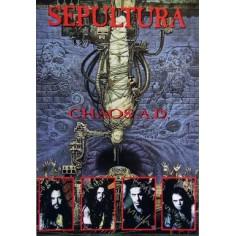 Postcard Sepultura - Chaos A.D.