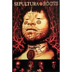 Postcard Sepultura - Roots