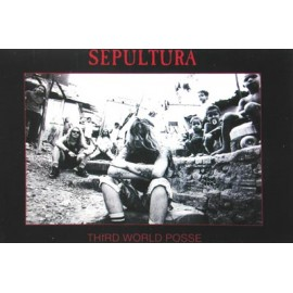 Postcard Sepultura - Third world posse