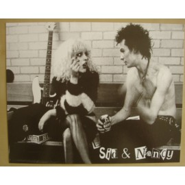 Postcard Sex Pistols - Sid & Nancy (giant)