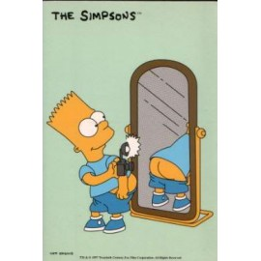 Postcard Simpsons