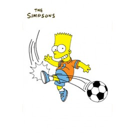 Postcard Simpsons