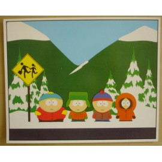 Postcard South Park (giant)