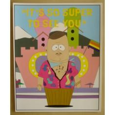 Postcard South Park - Al super gay (giant)