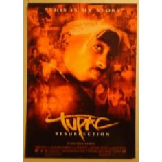 Postcard Tupac - Resurrection