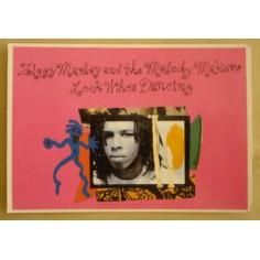 Postcard Ziggy Marley - Look who's dancing