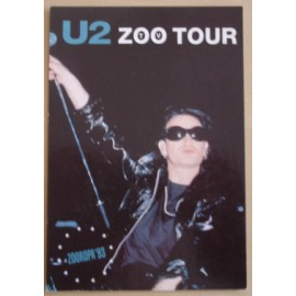 Postcard U2 - Zoo tour