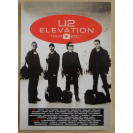 Postcard U2 - Elevation tour