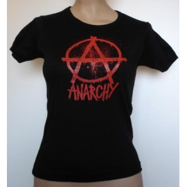 Top fille moulant Anarchy
