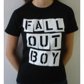 Top fille moulant Fall Out Boy