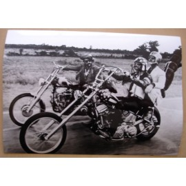 Photo Easy Rider [Peter Fonda, Dennis Hopper & Jack Nicholson]