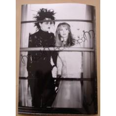 Photo Edward Scissorhands [Johnny Depp & Winona Ryder]