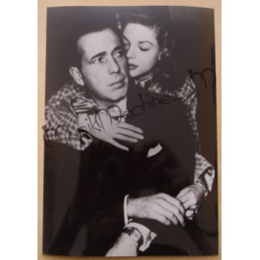 Photo Humphrey Bogart & Lauren Bacall