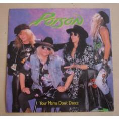 Autocollant Poison - Your mama don't dance