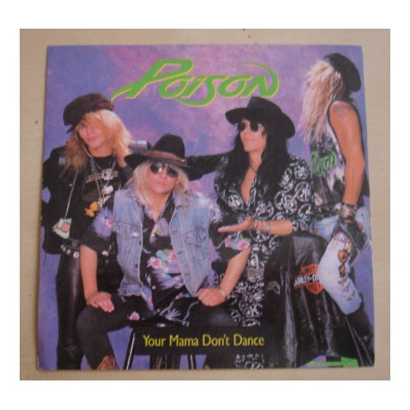 Sticker Poison - Your mama don't dance