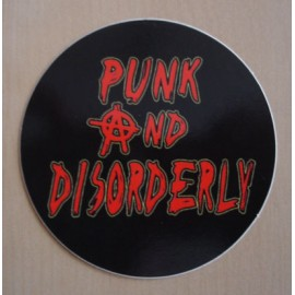 Sticker Punk and Disorderly
