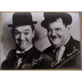 Photo Laurel & Hardy