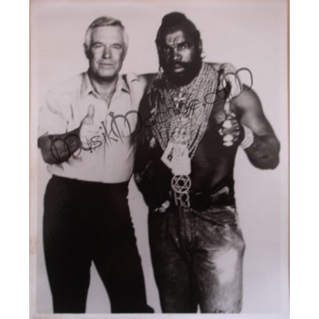 Photo A-Team (the) [George Peppard & Mister T]