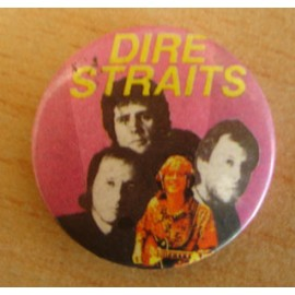 Badge Dire Straits