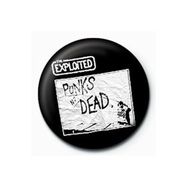Badge Exploited - Punks not dead