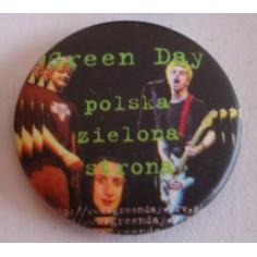 Badge Green Day - Polska zielona strona