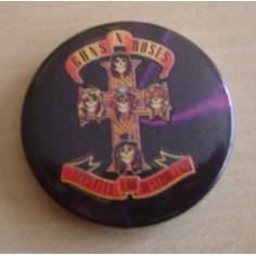 Badge Guns n' Roses - Appetite for destruction