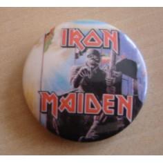 Badge Iron Maiden - 2 minutes to midnight
