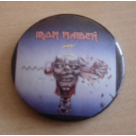 Badge Iron Maiden - Can i play with madness