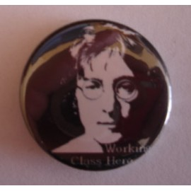 Badge John Lennon - Working class hero