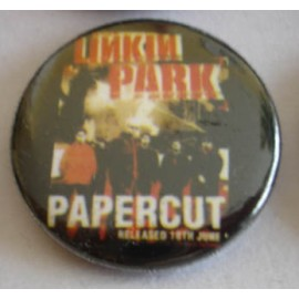 Badge Linkin Park - Papercut