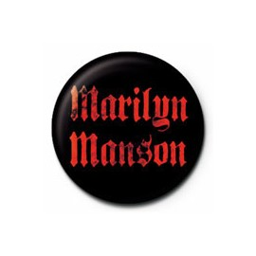 Badge Marilyn Manson
