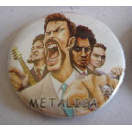 Badge Metallica