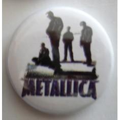 Badge Metallica